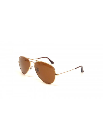 Ray Ban Aviador Marron Grande