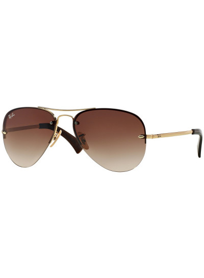 Ray Ban 3449 001 13 59 Aviador marron