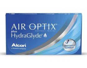 Lentes de Contacto Air Optix HydraGlyde