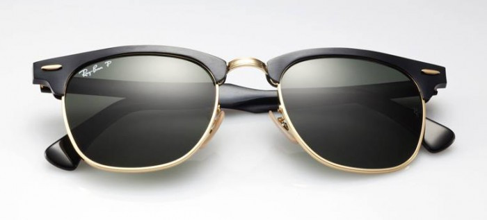 2fcd4a076bff1 Optica Paesani - Anteojos de Sol Ray Ban Clubmaster 3016 Negro ...